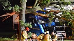 Dronken vrouw veroorzaakt ernstig ongeluk met vrachtwagen op A58