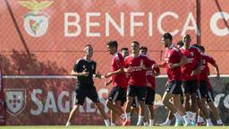 PSV-tegenstander Benfica (foto: ANP).