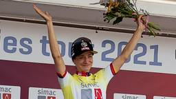 Marianne Vos won eerder al twee ritten van de Ronde van Nederland.