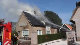 Uitslaande brand in huis in Rijswijk