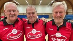 Frans, Jac en Jaap voetballen al vijftig jaar samen