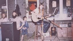 Muziekoptreden in de Fuse in de jaren 80 (Foto: de Fuse)