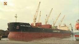 Grootste zeeschip ooit voor haven Moerdijk
