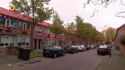 Eisenhowerstraat Tilburg al oranje om WK Voetbal