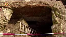 Eeuwenoude gewelven gevonden in achtertuin Ravenstein