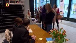 Nicci French signeert in boekhandel Eindhoven