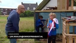 Eindhovenaar ontwerpt huthuisjes, een vrijplaats voor kinderen in de wijk Meerhoven.