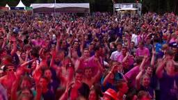 Grootste introductiefeest van Nederland in Hilvarenbeek: veel bier en veel regen