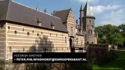 Het bijzondere bordjesplafond van kasteel Heeswijk is gerestaureerd