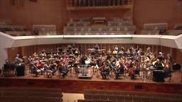 Studenten Technische Universiteit Eindhoven niet in de collegebanken, maar in de concertzaal