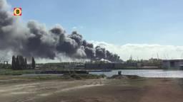Kjell Tolenaars maakte eerste video van de brand (Mobiele beelden)