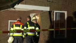 Huis verzakt na gesprongen waterleiding in Helmond