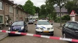 Beelden van afgezette Melis Stokelaan in Eindhoven waar mogelijk explosieven zijn gevonden