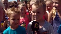 Leerlingen Mariaschool in Reusel trappen zes weken zomervakantie af