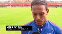 'Dat ik bij de selectie zit, is een beloning', verdediger Virgil van Dijk uit Breda klaar voor debuut Oranje