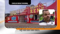 Circus Herman Renz is niet meer te redden, zegt directeur
