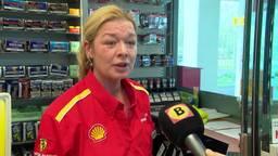 'Ik stond te trillen op m'n benen', vertelt medewerkster tankstation Zegge