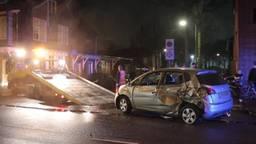 Dollemansrit veroorzaakt grote ravage op Ringbaan Oost in Tilburg