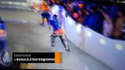 Halfblinde schaatser Danny Hansen wil wereldkampioen worden bij Crashed Ice: 'Zou stunt zijn'
