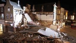 Apotheker ziet gebouw Pearle instorten