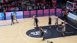 Winst in eerste play-offwedstrijd basketballers SPM Shoeters