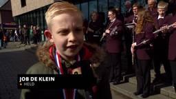 'Trots': Jonge helden krijgen een lintje in Mill