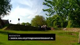 Opgegraven Philips van Kleefbolwerck in tuin Ravenstein open voor publiek