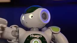 Robot Hugo komt een handje helpen