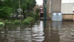 Boxmeer stond volgens de inwoners in mum van tijd onder water
