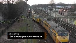 Plafonds zijn plafonds. Over het spoor in Brabant mogen niet meer giftreinen rijden dan is afgesproken.