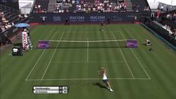 Indy de Vroome zwaait alweer af op Ricoh Open, verliest in openingsronde van CoCo Vandeweghe