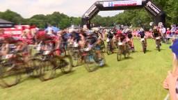 Rudi van Houts en Michiel van der Heijden grijpen naast het goud op NK mountainbike