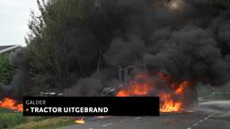 Tractor in brand