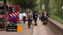 Bart van Osch wilde de brand blussen en hield er derdegraads brandwonden aan over
