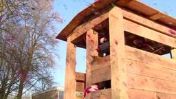 Nieuwe boomhut in Tilburg