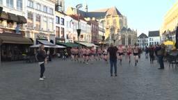 Onderbroekenrace voor het goede doel in Breda