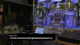 De Tilburgse gitaris Bram Stadhouders kan via zijn gitaar een groot dansorgel bespelen
