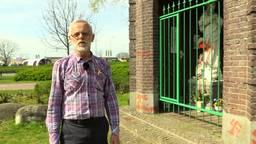 Mariabeeld besmeurd en hakenkruizen op kapel in Eindhoven