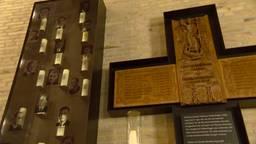 Monument onthuld in Tilburg waar 22 studenten tijdens  Tweede Wereldoorlog omkwamen.