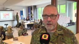 Leerlingen in Schijndel 'Praten met soldaten'