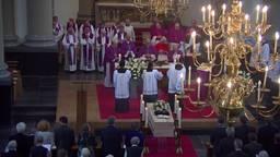 Veel belangstelling voor de uitvaart van Bisschop Ernst in Breda