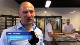 Bij Houben Worstenbrood in Eindhoven is de gemiddelde leeftijd 55-plus en dat is uitzonderlijk