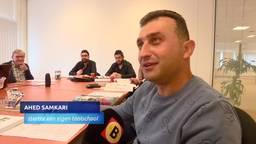 Vluchteling Ahed opent eigen taalschool met tolk, 'Er is vaak miscommunicatie en dan leer je niets'