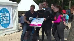 Ruud van Nistelrooy zwom mee met derde editie Swim to Fight Cancer