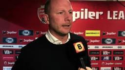 FC Eindhoven-trainer Wilfred van Leeuwen over de situatie van keeper Ruud Swinkels