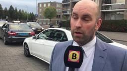 Wethouder Boaz Adank neemt plan Bredase taxichauffeurs in ontvangst.