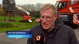 Riskante klus: kloostertoren van 122 jaar oud verplaatst in Diessen