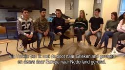'De oorlog begon toen ik 11 was', vluchtelingen geven gastlessen op school