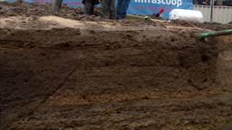 Archeologen smullen van vondsten in Cuijk: Romeinse weg gevonden