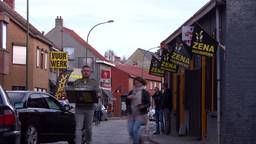Baarle-Hertog stroomt weer vol met Brabantse vuurwerktoeristen